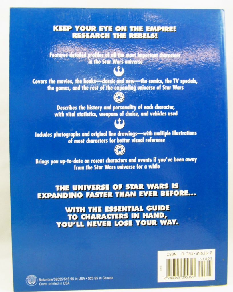 Star Wars The Essential Guide of Characters - Ballantine 1995 03
