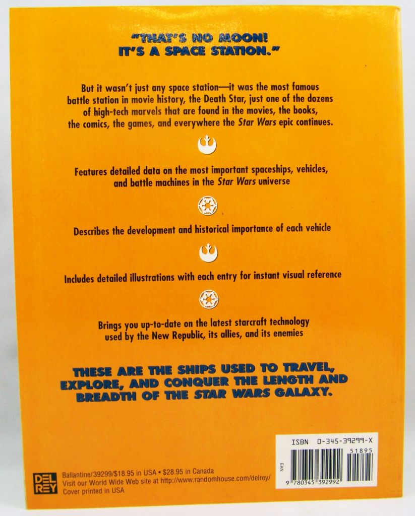 Star Wars The Essential Guide to Vehicles & Vessels - Ballantine 1996 03