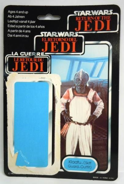 Star Wars Tri-logo 1983/1985 - Kenner - Klaatu (Skiff Guard Outfit)