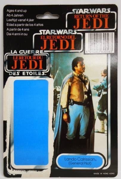 Star Wars Tri-logo 1983/1985 - Kenner - Lando Calrissian (General Pilot)