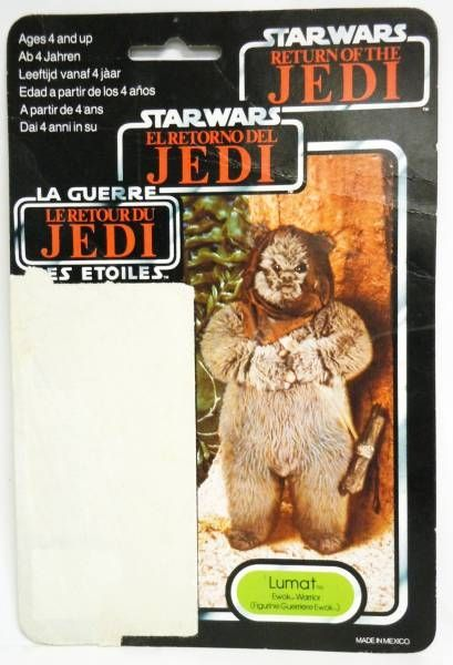 Star Wars Tri-logo 1983/1985 - Kenner - Lumat (Ewok Warrior)