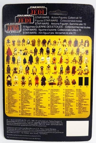 Star Wars Tri-logo 1983/1985 - Kenner - Nikto