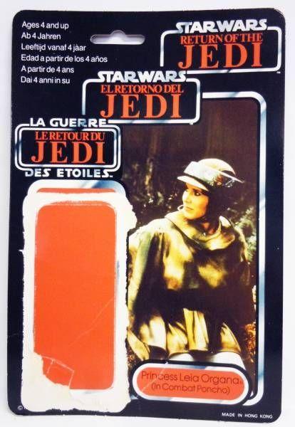 Star Wars Tri-logo 1983/1985 - Kenner - Princess Leia Organa (in Combat Poncho)