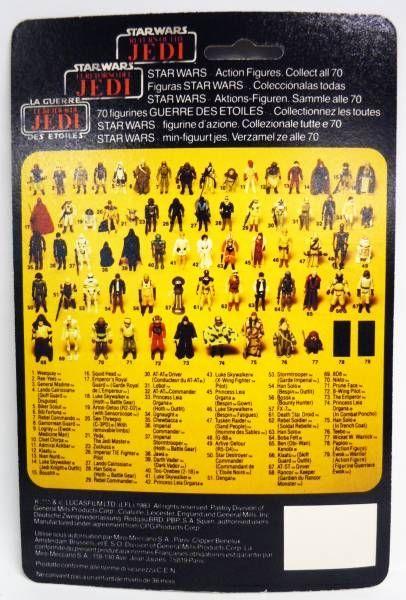 Star Wars Tri-logo 1983/1985 - Kenner - Rancor Keeper (Gardien du Rancor Monster)