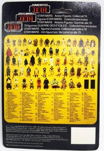 Star Wars Tri-logo 1983/1985 - Kenner - The Emperor