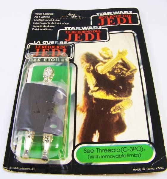 Star Wars Trilogo 1983/1985 - Kenner  - C-3PO (removable limbs)