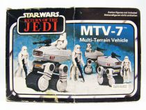 Star Wars Trilogo Return of the Jedi 1984 - Kenner - Mini Rigs : MTV-7 (loose with box)