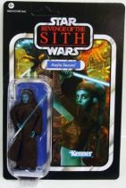 Star Wars vintage style - Hasbro - Aayla Secura - Revenge of the Sith