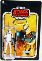Star Wars vintage style - Hasbro - Clone Trooper Lieutenant - Attack of the Clones