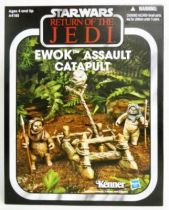 Star Wars vintage style - Hasbro - Ewok Assault Catapult - Return of the Jedi
