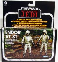 Star Wars vintage style - Hasbro - Special Set - Endor AT-ST Crew Driver & Gunner