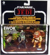 Star Wars vintage style - Hasbro - Special Set - Ewok Scouts Wunka & Widdle Warrick