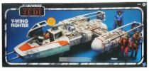 Star Wars vintage style - Y-Wing Fighter - Return of the Jedi vintage style