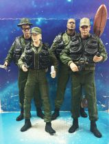 Stargate SG-1 (Series 1) - Art Asylum - Cl. Jack O\'Neill, Dr. Daniel Jackson, Lt. Cl. Samantha & Teal\'c