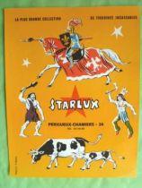 Starlux - Affiche 27 x 21 Couverture Catalogue M Négrier
