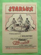 Starlux - Affichette Italienne 18 x 13cm