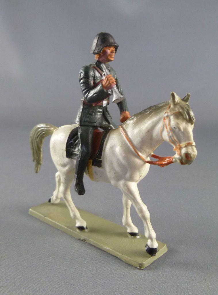 Starlux - Armée Helvétique - Cavalier Dragon Suisse Clairon (réf DS206)
