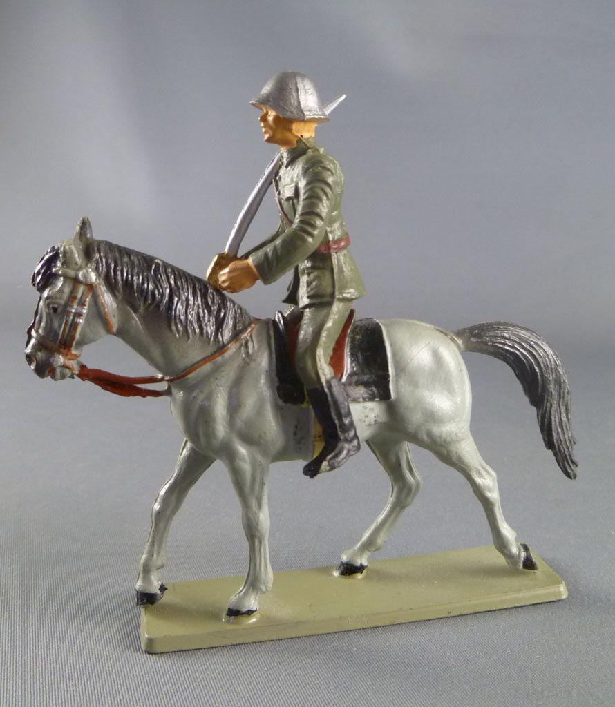 Starlux - Armée Helvétique - Cavalier Dragon Suisse Sabre (réf DS201)