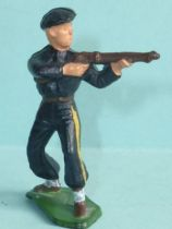 Starlux - Chasseurs Alpins - Type 3 - Firing rifle standing (ref 21 rectangular base)