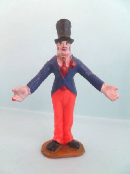 Starlux - Circus - Series 53 - Clown gibus hat (Blue & Orange) (ref 607)