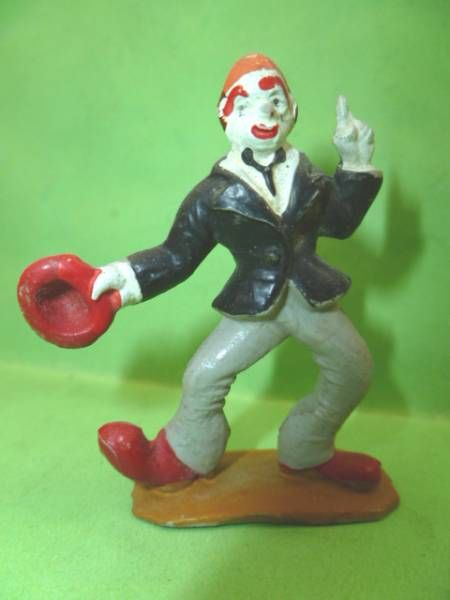 Starlux - Circus - Series 53 - Clown hat in hand (ref 609)