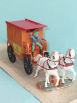 Starlux - Cow-Boys - Attelage Far-West - Fourgon cellulaire Jail wagon Neuf