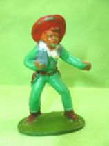 Starlux - Cow-Boys - Series 53 - Footed Boxing (green) (réf 131)