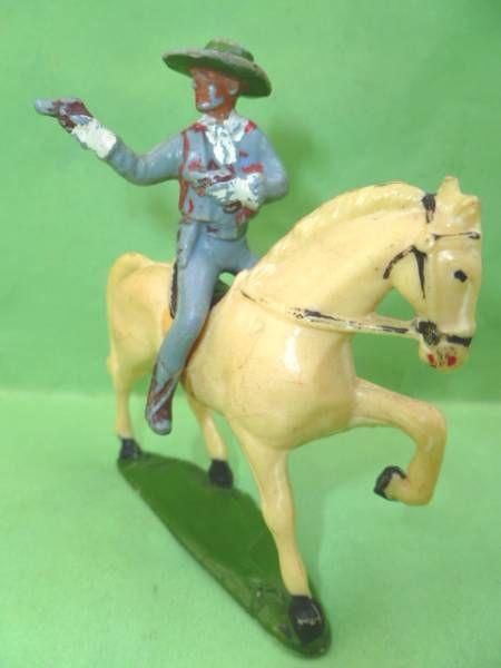 Starlux - Cow-Boys - Series 53 - Mounted Firing gun on side (ref 416)