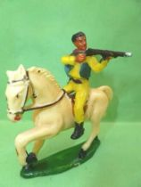 Starlux - Cow-Boys - Series 53 - Mounted Firing rifle (ref 411)