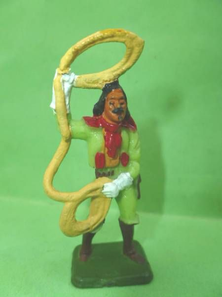 Starlux - Cow-Boys - Series 53 Buffalo Bill - Footed Lasso (réf 288)