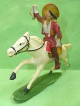 Starlux - Cow-Boys - Series 53 Buffalo Bill - Mounted with scalp (r�f 453)