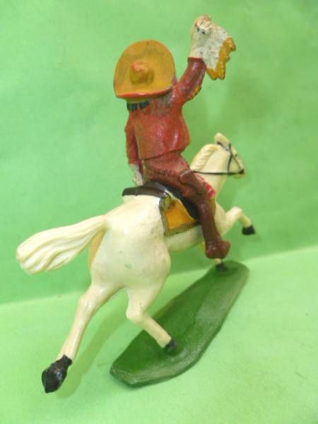 Starlux - Cow-Boys - Series 53 Buffalo Bill - Mounted with scalp (réf 453)