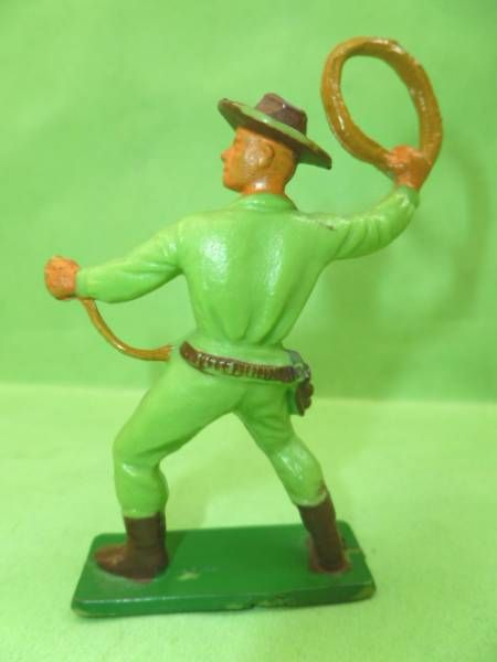 Starlux - Cow-Boys - Series 55/56 - Footed Lasso (green) (ref 2128)