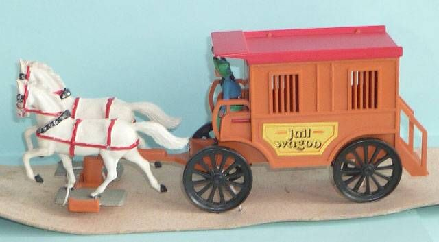 Starlux - Cow-Boys - Wild West Jail Wagon