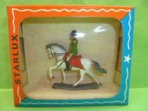 Starlux - Empire (Miniature 40mm) - Napoléon à cheval Neuf en Boite (réf M 8101)