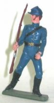 Starlux - Federates - Series regular - Footed Rifle in right hand (dark blue) (ref N7)