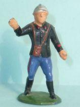 Starlux - Fireman 1st series - Chief making sign (ref 225)