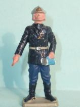 Starlux - Fireman 3rd series - Officer with lamp (blue) (ref SP1)