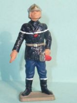Starlux - Fireman 3rd series - Officer with lamp (red) (ref SP1)