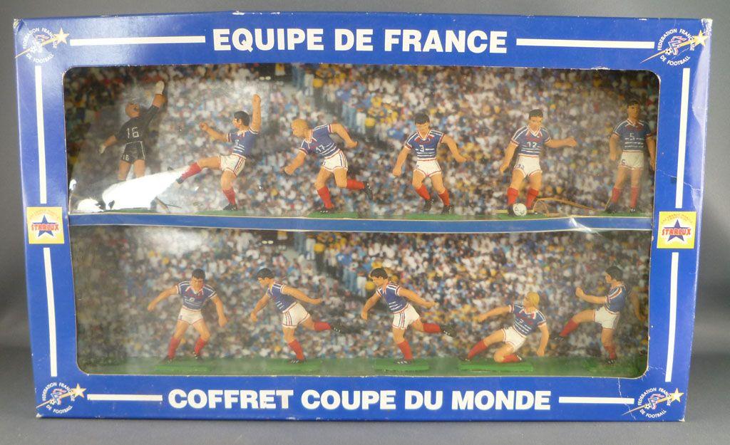 Starlux footballeurs coffret coupe du monde 1998 - Coupe du monde 1994 equipe de france ...