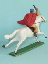 Starlux - French Cavalry - Series 63 - Saharian tommy gun (galloping white horse) (réf 403)