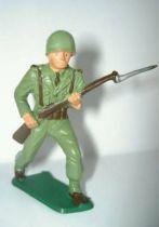 Starlux - French Infantry - Serie Luxe - Charging with rifle (ref 5008)