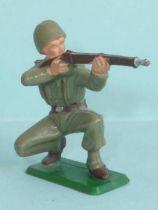 Starlux - French Infantry - Serie Luxe - Firing rifle kneeling (ref 5016)