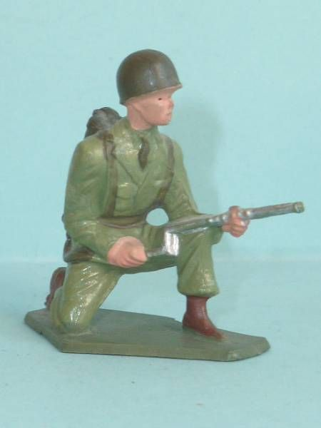 Starlux - French Infantry - Serie Luxe - Flame-thrower (ref 5002)