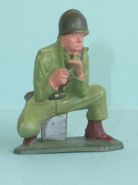 Starlux - French Infantry - Serie Luxe - Machine gunner (ref 5004)