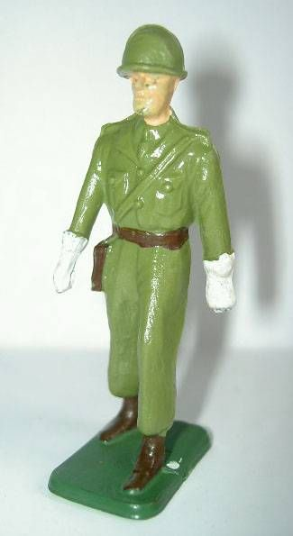 Starlux - French Infantry - Type 3 - Marching officer rectangular base (réf 5)