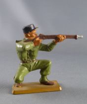 Starlux - French Legion - Série Luxe - Fighting firing rifle kneeling black cap (réf 592)