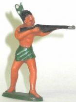 Starlux - Incas Series 53 - Footed Firing rifle standing (green - green feathers) (ref 181)