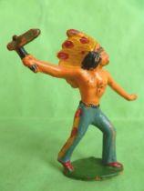 Starlux - Indians - Series Regular 53 - Footed Tomahawk (ref 147)