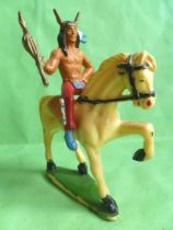 Starlux - Indians - Series Regular 53 - Mounted Chief white walking horse (ref 435)